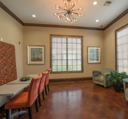 WiFi Business Center at Camden Cypress Creek Apartments in Houston Texas