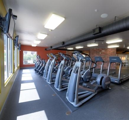 Fitness Center at Camden Farmers Market Apartments in Dallas, Texas