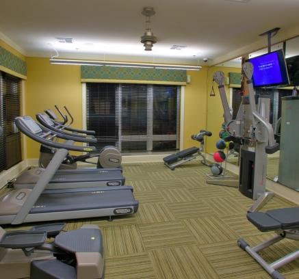 Fitness Center at Camden Henderson Apartments in Dallas, Texas