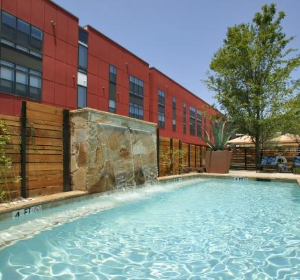 Pool at Camden Henderson Apartments in Dallas, Texas