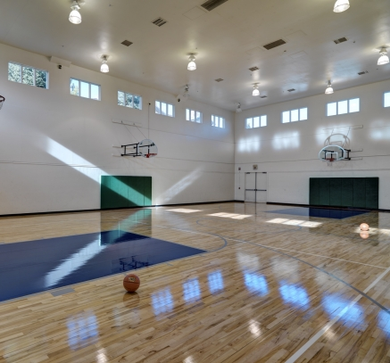 Fitness basketball court at Camden Lakeway Apartments Lakewood Littleton Denver Colorado