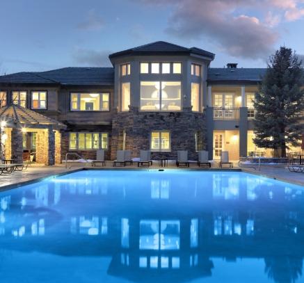 Pool at Camden Lakeway Apartments Lakewood Littleton Denver Colorado