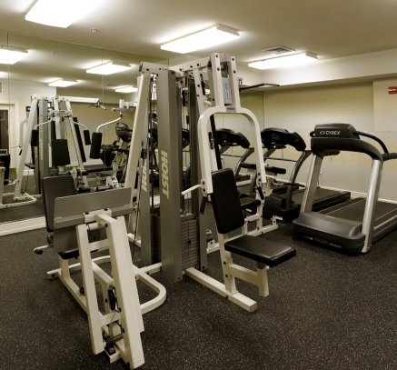 Fitness Center Camden Largo Town Center Apartments in Washington, D.C.