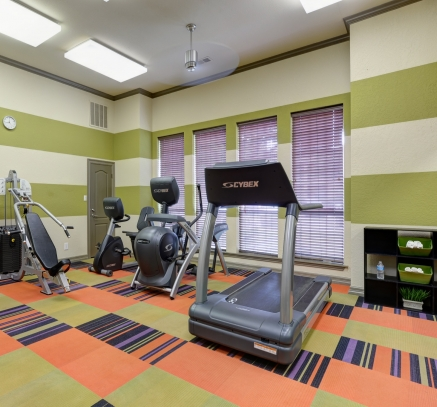 Fitness Center at Camden Legacy Park Apartments in Plano, Texas