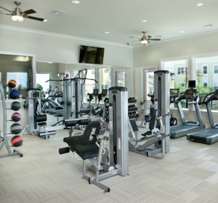 Fitness Center at Camden Montague Apartments in Tampa, Florida