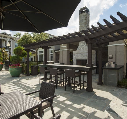 Outdoor Grills at Camden Northpointe Apartments in Tomball, Texas