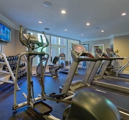 Camden Phipps Apartments Fitness center