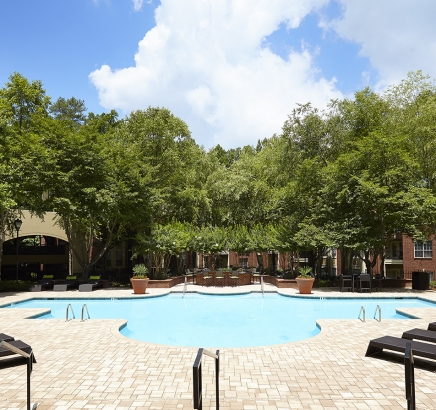 Pool Camden Phipps Apartments Atlanta, Georgia