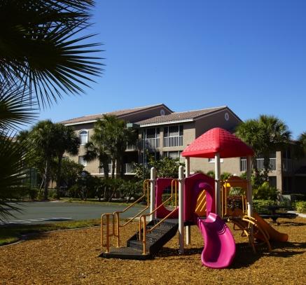 Playground at Camden Portofino Apartments in Pembroke Pines, Florida