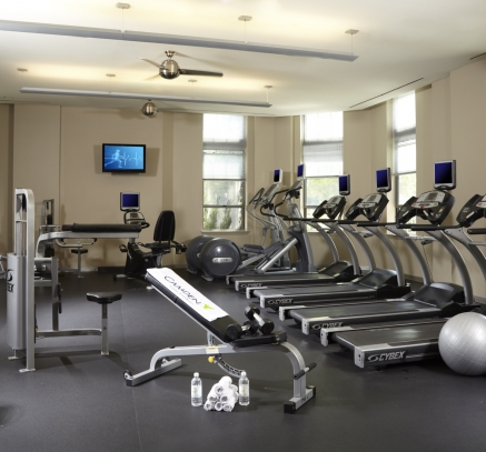 Fitness Center at Camden Potomac Yard Apartments in Arlington Virginia near Washington DC