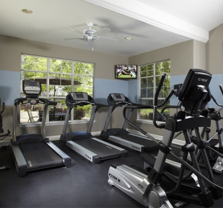 Fitness Center at Camden Reunion Park  in Apex near Raleigh NC