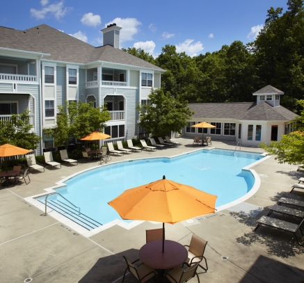 Pool at Camden Russett Apartments in Laurel, Maryland
