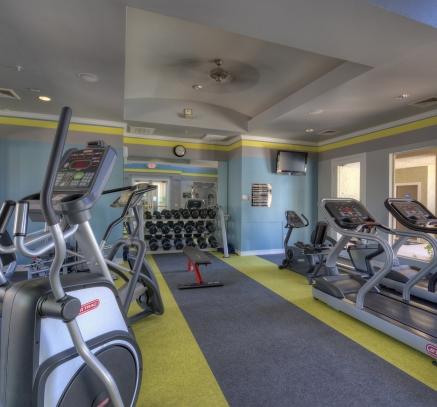 Camden San Marcos fitness center in Scottsdale, Arizona.