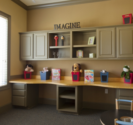 Play Room at Camden South Bay Apartments in Corpus Christi, Texas