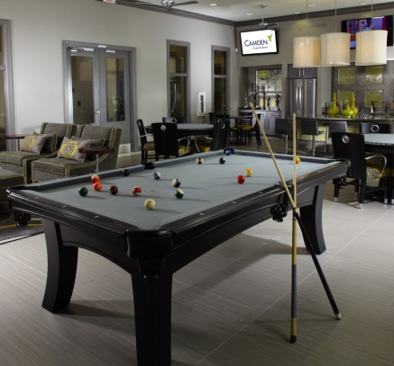 Billiards at Camden Town Square Apartments in Kissimmee, Florida