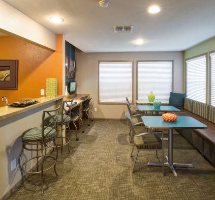 Business Center at Camden Valley Park Apartments in Irving, Texas