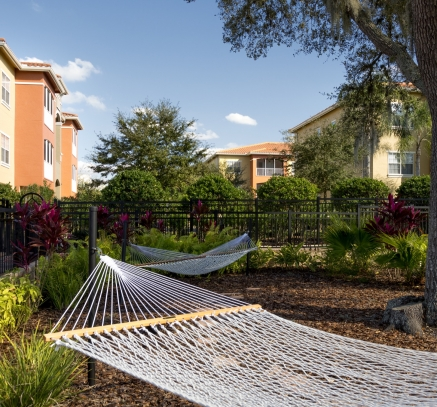 Hammock at Camden Visconti Luxury Apartments in Brandon, Florida