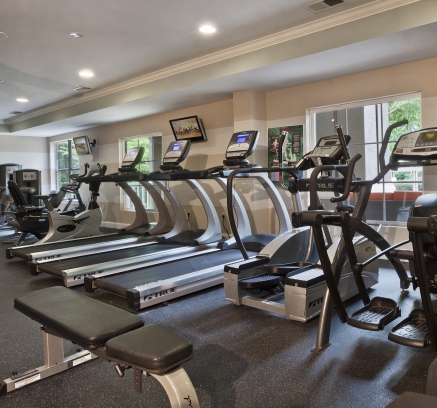 Fitness Center at Camden Westwood Apartments in Morrisville near Raleigh NC