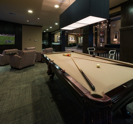 Resident Lounge at Camden Yorktown Apartments in Houston, Texas